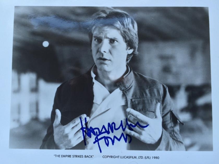 HF autograph